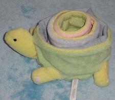 PBK Pottery Barn Kids Plush Turtle Nesting Stacking Pastel Soft Baby Toy