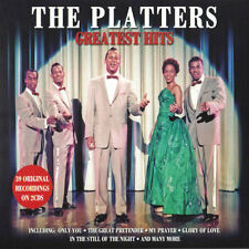 The Platters GREATEST HITS Best Of 40 Original Recordings ESSENTIAL New 2 CD