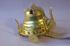 NEW #2 SOLID BRASS QUEEN ANNE OIL KEROSENE LAMP BURNER WITH WICK 10622JB