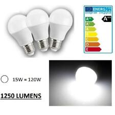 LOT DE 3 AMPOULE LED MAISON E27 15W 220V 1250 LUMENS - COULEUR BLANC FROID 6000K