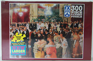 FX Schmid THE VIENNESE BALL 300 piece JIGSAW PUZZLE made in USA *sealed