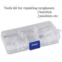 Lunettes verres à lunettes vis écrou nez rondelle outil de réparation optique ta