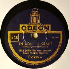 Nils Jolinder En Dorr Pa Glant Swedish 78 Nice Male Vocal Odeon 5255 Dar Bor
