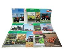 Lot Of Agco Deutz-Allis Allis-Chalmers Literature Brochures Tractors & Implement