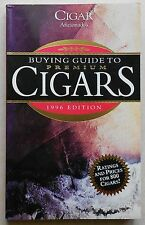 Buying Guide to Premium Cigars 1996 Edition Marvin Shanken Book Book