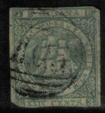BRITISH GUIANA - 1853 - IMPERF, SG NO 72 ? FINE USED CV 100 GBP