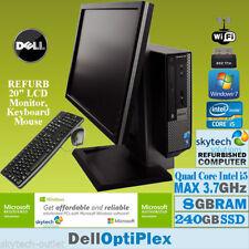 PCs de sobremesa y todo en uno 2,5 GHz o más 8GB