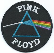 Pink Floyd Dark Side Of The Moon Embroidered Patch Iron-on Good Luck Magic