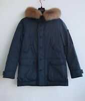 PEUTEREY Men's Down Parka Jacket mod. Thoms NB Fur Uomo Real Fox Hood FW19/20