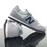 NEW New Balance 500 Athletic Shoe Classic Gray Navy Blue GM500SG Men's Size 9.5