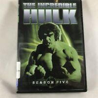 The Incredible Hulk Complete Fifth Final Season DVD Set Bill Bixby Lou Ferrigno