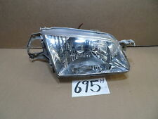 1999 - 2000 Mazda Protege PASSENGER Side Headlight Used front Lamp #695-H