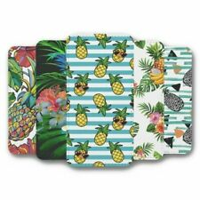 For iPhone X & XS Flip Case Cover Pineapple Collection 1