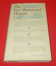 """The Ten Thousand Things""  Maria Dermout *1958*  1st / 1st  HC/DJ  VG+"