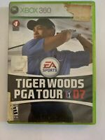 TIGER WOODS PGA TOUR 07 - XBOX 360  - COMPLETE W/ MANUAL - FREE S/H - (G4)
