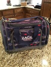 Pottery Barn Kids Duffle Bag Shark Blue Monogram ZACK