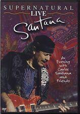 SANTANA - Supernatural live - DVD EDITORIALE L'ESPRESSO OTTIME CONDIZIONI