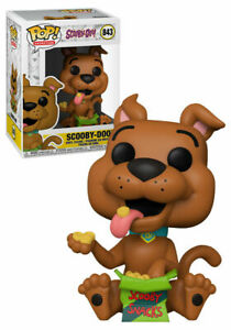 funko pop vinyl animation scooby-doo with snacks special edition no.843