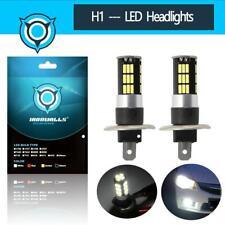 2PCS H1 100W 10000LM LED Headlight Conversion Bulbs Kits FOG Lamps 6000K White