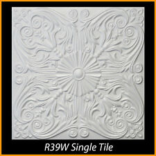 20x20 Styrofoam Glue Up Ceiling Tiles R39W 232.32 sq ft LOT