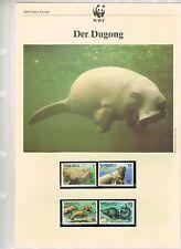 WWF Briefmarken: Der Dugong (Vanuatu) Postfrisch, MK & ETB