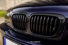 schwarz glänzende Nieren 3er BMW E46 Coupe VFL Frontgrill salberk 4603