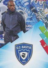 SCB-01 LOGO ECUSSON - MAKELELE # SC.BASTIA CARD ADRENALYN FOOT 2015 PANINI