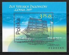 Polska, Poland, Fi. Bl.219 (187) ** Segelschiffe Mi. 188