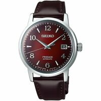 SEIKO Presage SRPE41J1 Cocktail Negroni Burgundy Japan Made Watch INT'L WARRANTY