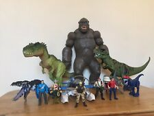 Extra Large King Kong And Dino Valley Toy Bundle