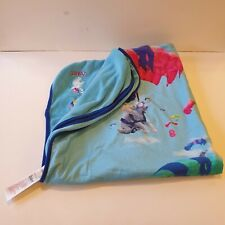 Ted Baker Debenhams Blue Elephants Parachutes Baby Blanket New Without Tags