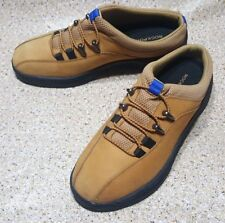 ROCKPORT MULES SLIP ON TAN SUEDE LEATHER WOMENS WALKING CASUAL SHOES 8 W
