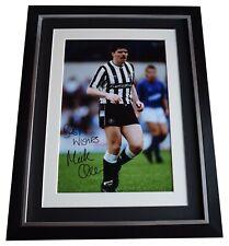 Micky Quinn Signed Framed Autograph 16x12 photo display Newcastle Utd COA