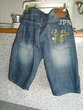 JPN motorbikes Blue Sky Giappone Superdry Jeans Short size 36 VINTAGE RARO TOP