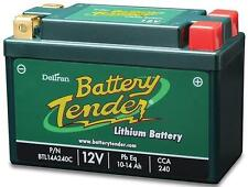 Battery Tender Lithium Iron Phosphate 12V 14AH 240CCA Replaces Yuasa YTX14-BS