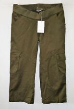 soon Melbourne Maternity Band Khaki 3/4 Cargo Pants Size 8 BNWT #SO53