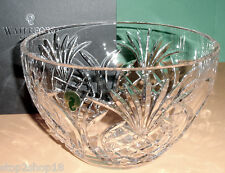"""Waterford Crystal PINEAPPLE HOSPITALITY 8"""" Bowl #156120 New"""