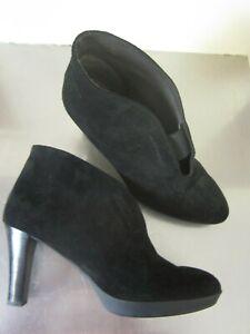PACO HERRERO Spain EDesigner Suede Leather Boots platform Booties 39