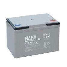 Batteria FIAMM AGM 12FGL70  70Ah 12V UPS, veicoli elettrici, fotovoltaico