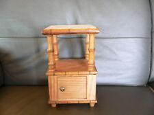 jouet petite table de nuit bambou 1920