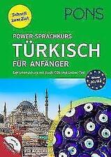 PONS Power-Sprachkurs Türkisch für Anfänger (2018, Taschenbuch)