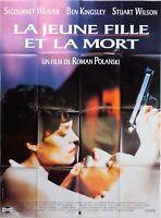 Plakat La Jungen Mädchen Und Tod Roman Polanski Sigourney Weaver - 120 X 160 CM