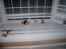 2 Fenwick Hmg ultra sensitive graphite fishing rod and reel combo