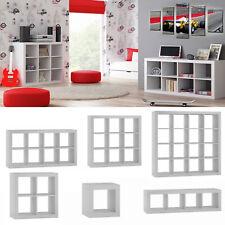 Kommode Modernes Bücherregal Regalsystem Regal Raumteiler Wandregal Weiß