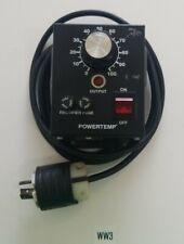 *PREOWNED* POWERTEMP PT2415 HEAT CONTROL W/ 2 GBB 15A FUSES 15AMPS 240VAC