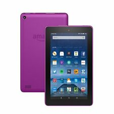 New Amazon Kindle Fire 7 Inch 8GB Wi-Fi Tablet 5th Gen - Magenta Latest Model !!