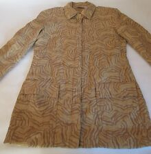 Newport News Blazer Womens Suit Jacket Coat Size 8 Bronze Metallic Lined Spiegel