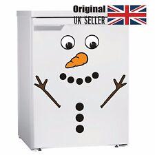 Snowman Fridge Sticker Decal Decoration Christmas Fun Novelty Xmas THE ORIGINAL
