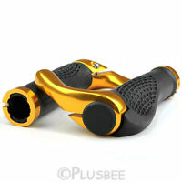 GOLD MOUNTAIN MTB BIKE CYCLE BICYCLE HANDLE BAR ERGONOMIC ENDURANCE GRIPS ENDS