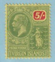 BRITISH VIRGIN ISLANDS 52  MINT HINGED OG * NO FAULTS VERY FINE!